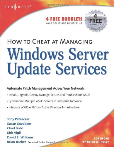 How to Cheat at Managing Windows Server Update Services, Volume 1 by B. Barber (2006-03-02) par B. Barber