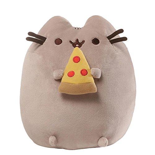 GUND 4058937 - Pusheen Pizza Plüschtier (Tabby-katze-plüsch)