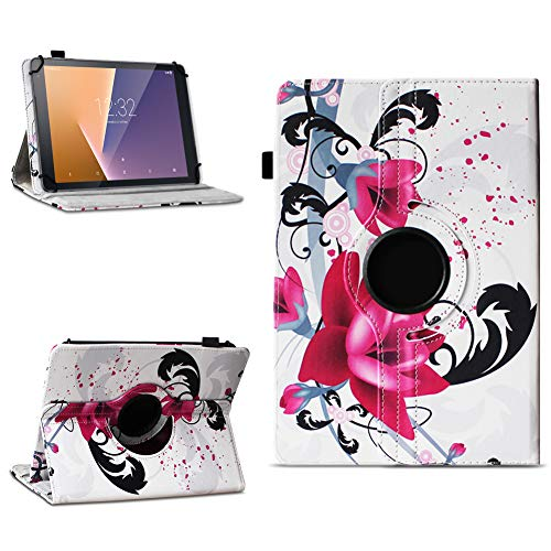 na-commerce Tablet Schutzhülle Vodafone Tab Prime 6/7 360° drehbar Tasche Cover Case Etui, Farben:Motiv 7