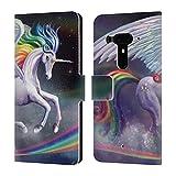 Official Rose Khan Rainbow Dancer Unicorns Leather Book
