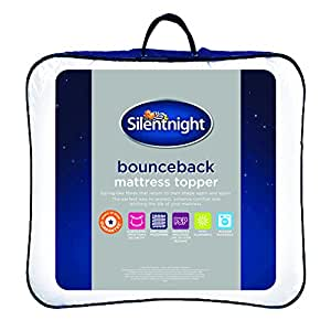 silentnight bounceback mattress topper king. Black Bedroom Furniture Sets. Home Design Ideas