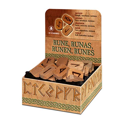 Wooden Runes Bookshelf Edition: Ancient Northern Magic