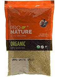 Pro Nature 100% Organic Urad White Split, 500g