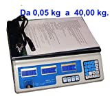 Elektronische Waage Digital Profi max 40kg mit 4Auswahlfunktionen