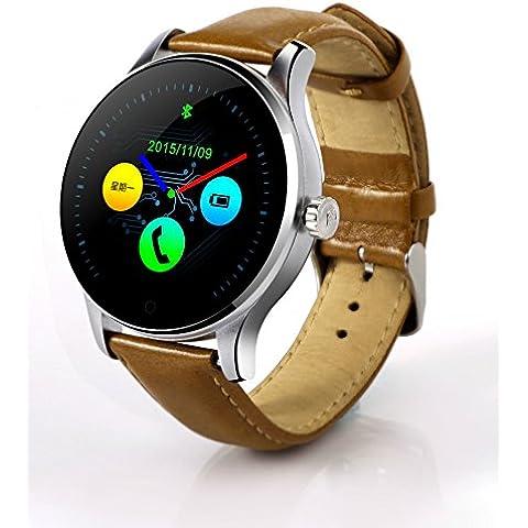 Smartwatch Relojes monitor cardiaco sentado sueño inteligente K88H monitoreo celular sync interfaz interfaz de usuario de Bluetooth par , silver 2