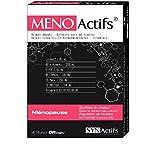 SYNActifs - MENOactifs - Ménopause Complément alimentaire améliorant les Boufées de Chaleur, Sueurs nocturnes et Régulation de l'activité Hormonale - Boite de 60 Gélules