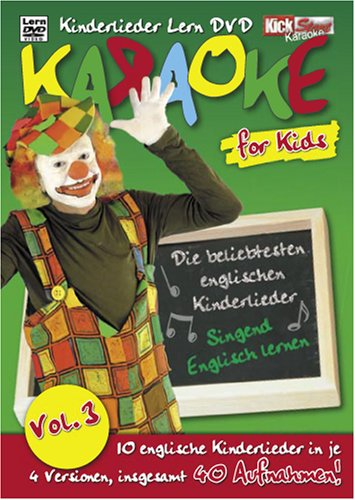 Kinder Dvd Karaoke (Karaoke - Karaoke for Kids Vol. 3)