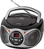 AEG SR 4351 Stereoradio mit CD, AUX-IN,Teleskopantenne. LED-Display