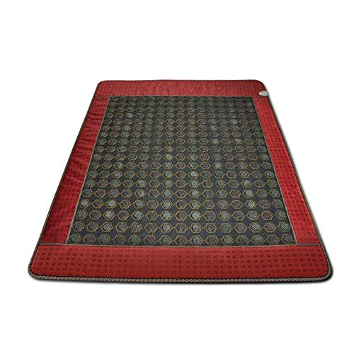 ARAYACY Einzelne Jade-elektrische Heizungs-Gesundheits-warme Matratze/Temperaturregelungs-Massage-Heizdecke 100 * 190CM,A