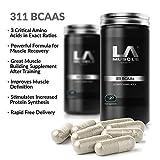 LA Muscle 311 BCAA, acides aminés ramifiés, récupérer et obtenir des muscles maigres, avec la leucine, l'isoleucine et la valine | Puissant rapport 3-1-1 | PharmaGrade Muscle Builder | Améliore la récupération musculaire, Amazon Prix spécial, ACHETEZ -Special Amazon Prix - Acheter maintenant Avant Prix remonter !!