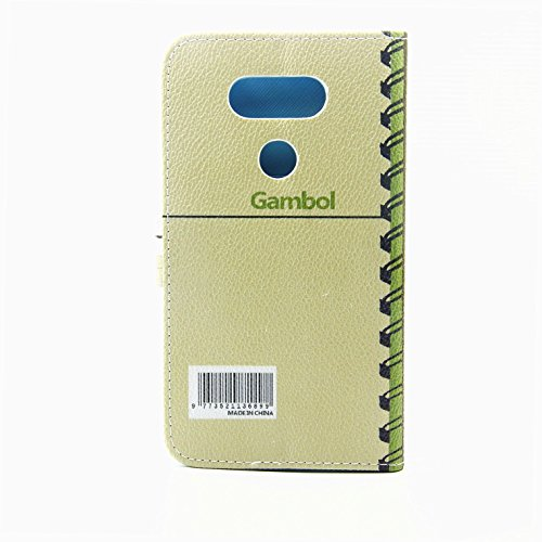 SainCat Coque Etui pour LG G5, LG G5 Coque Dragonne Portefeuille PU Cuir Etui, Coque de Protection en Cuir Folio Housse, SainCat PU Leather Case Wallet Flip Protective Cover Protector, Etui de Protect carnet