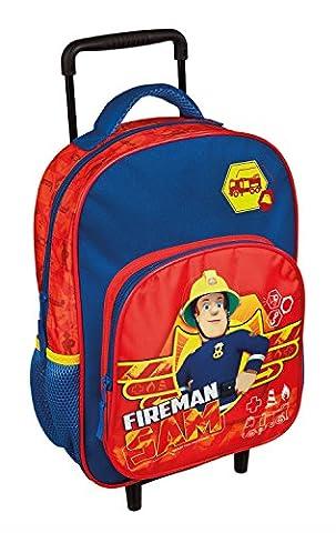 Undercover FSBT8126 - Kindergartentrolley Feuerwehrmann Sam, ca. 36 x 25 x 10 cm