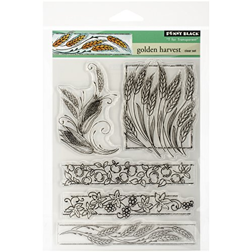 penny-black-clear-stamps-5x65-sheet-golden-harvest