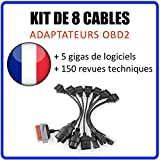 MISTER DIAGNOSTIC OBD2 Kabel-Adapter-Set, 8-teilig