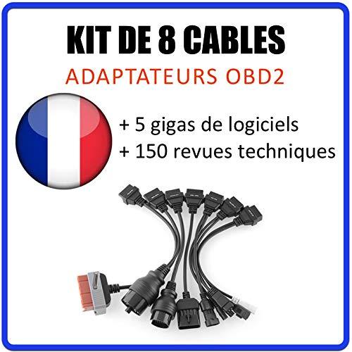 MISTER DIAGNOSTIC OBD2 cavo adattatore 8 pezzi kit