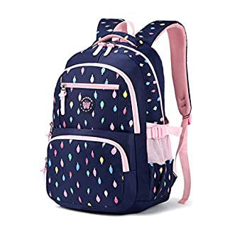 51LlXnrwsKL. SS324  - Mochila escolar para niños,Bolsa de escuela para niños Mochila chica mochila Bolsas de hombro livianas Bolsa de escuela de Nylon chico Mochila adolescente portátil Mochila