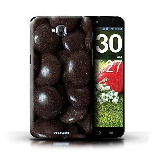 Kobalt® Imprimé Etui / Coque pour LG G Pro Lite/D680 / Minstrels conception / Série Bonbons Minstrels