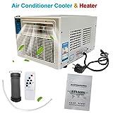 Cozyel 220V 360W Climatiseur Portable Refroidisseur d'air Chauffage de climatiseur Ventilateur de Climatisation Mobile Mini Personnel d'air Refroidisseur Déshumidificateur pour Bureau