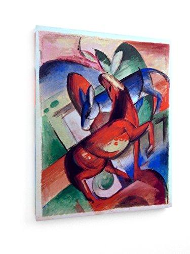marc-caballo-y-burro-1912-60x75-cm-weewado-impresiones-sobre-lienzo-muro-de-arte