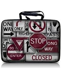 Luxburg® design hardcase sacoche housse rigide pour ordinateur portable 13.3 pouces. motif: Stop