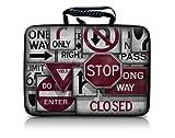 Luxburg® Design Hardcase Laptoptasche Notebooktasche für 13