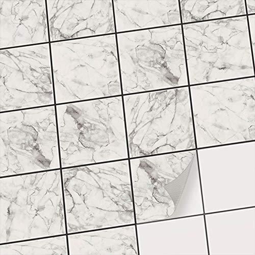 Piastrelle Bagno Bianche 20x20.Piastrelle Adesive Pvc Per Cucina Moderni Design Auto
