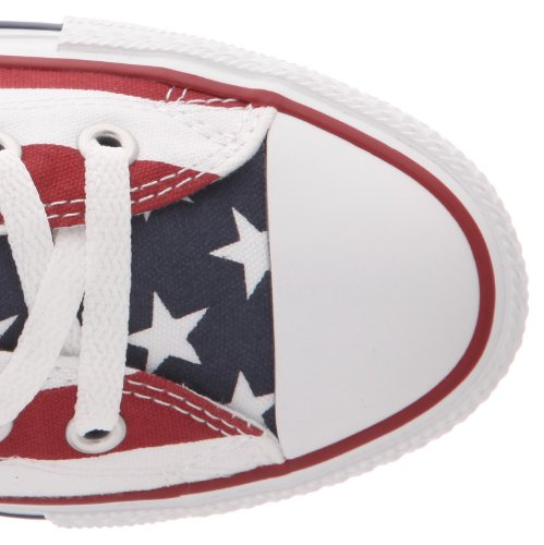 Converse Chuck Taylor All Star Print, Chaussures de Tennis Mixte Adulte Multicolore (Stars Bars)