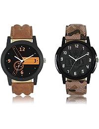 Maan International New Aarmy Stylish 2 Combo Boy's Watch MI-LO0711