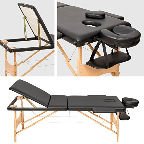 TecTake Massageliege – 3 Zonen - 2