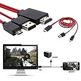 Mobile zu TV Kabel 11Füße Micro USB zu HDMI Kabel MHL auf HDMI 1080P HDTV Adapter-Kabel für Samsung Galaxy Galaxy S5/S4/S3/Note 3Galaxy Tab 38.0, Tab 310.1, Tab PRO, GALAXY NOTE 8
