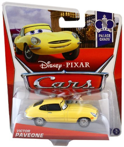 Disney Pixar Cars Victor Paveone (Yellow Jag in Stands) (Palace Chaos, #6 of 9)