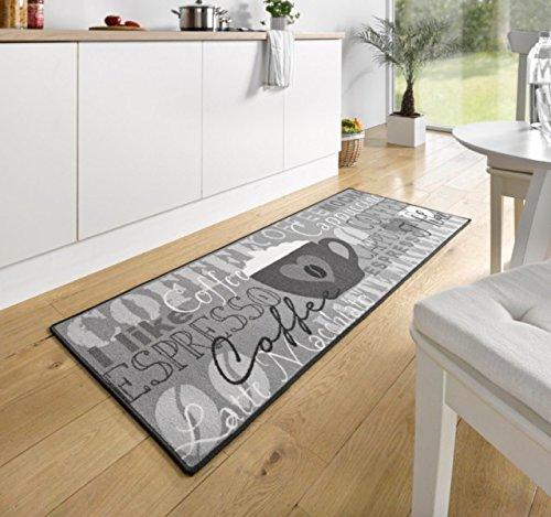 Preisvergleich Produktbild Hanse Home 102370 Teppichläufer, Polyamid, grau, 67 x 180 x 0.8 cm