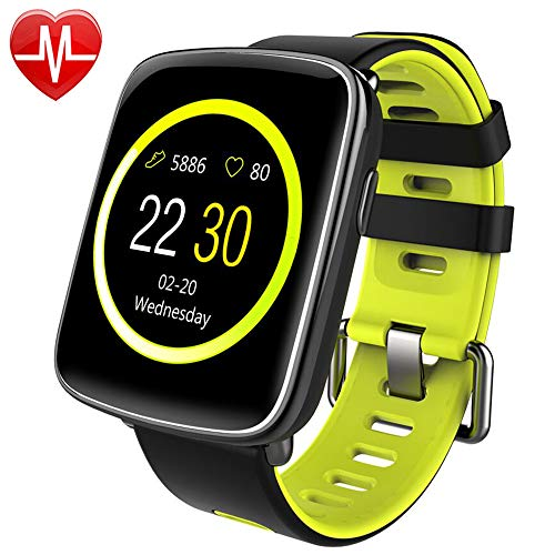 Montre Connectée pour iPhone et Android,Willful SW018...