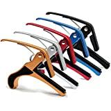 SG Musical - Folk Acoustic Electric Tune Quick Change Single-Handed Tune Change Trigger Guitar Capo