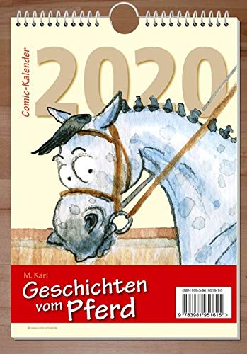 Geschichten vom Pferd 2020: Comic-Kalender