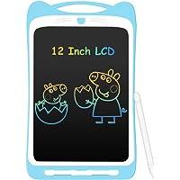 Tablette d'Ecriture Enfant 12 Pouces LCD, AGPTEK Ardoise Magique Coloré Planche à Dessin Ecriture Sans Papier, Tablette…