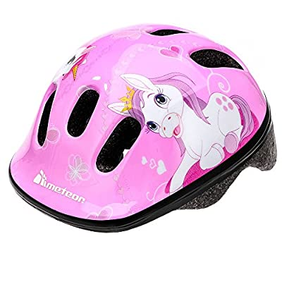 Meteor Cycle Safety Helmet For Kids/Childs / Childrens Lightweight Adjustable Bicycle Helmet For Both Boys and Girls MV6-2 by markArtur