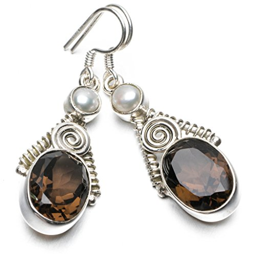 stargemstm-natural-smoky-quartz-and-river-pearl-unique-punk-style-925-sterling-silver-earrings-1-3-4