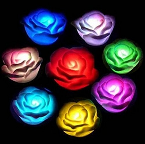 24X7 Emall Set Of 3 Premium Led Rose ~ 7 Colour Changing...
