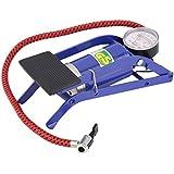 Air Pressure Foot Pump for Bicycles, Tire, Cars, Inflating Pools, Basketballs, Footballs Color May Very