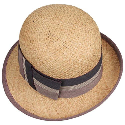 Chapeau Balisa Raphia bedacht chapeau d´ete chapeau pour femme nature-parme