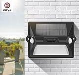 Hycy Dual PIR Bewegungsmelder Solar LED Wandleuchte RGB RGBW Wasserdichte Terrasse Gartenlicht 180 Grad Sense Lampe Veranda Licht