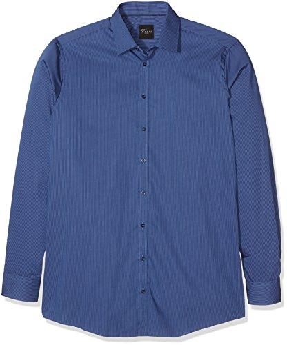 Venti, Camicia Formale Uomo Blu (blau 100)