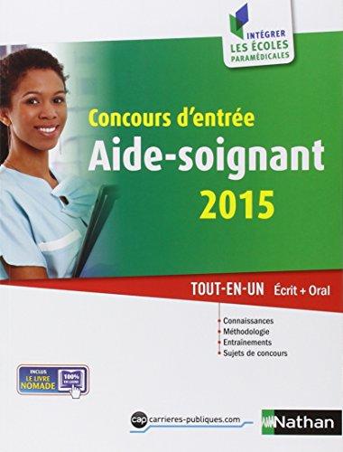 Concours d'entre Aide-Soignant 2015