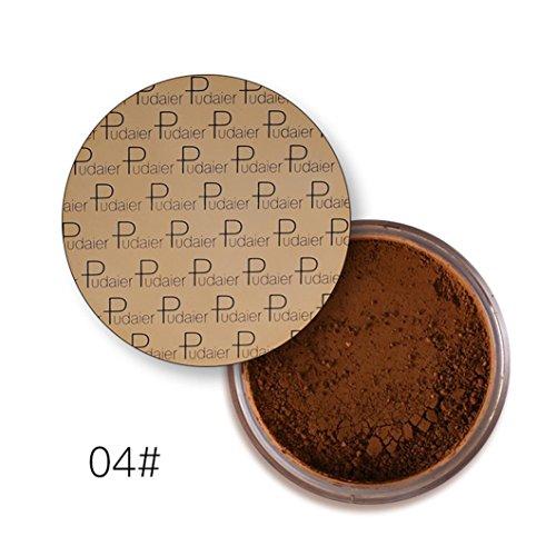 Nicht Gewürzt Feuchtigkeitscreme (Skin-made zu erwähnen helle Farbe lose Pulver Matte Pulver Make-up Pulver von Upxiang (04#))