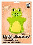 Ursus 39560005 - Filzset Handpuppe Frosch, ca. 20 cm