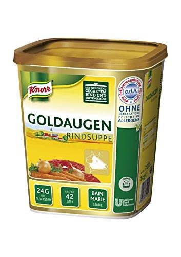 Knorr Goldaugen Rindsuppe Bouillon, 1er Pack (1 x 1 kg)