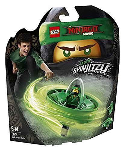 Lego Lego (LEGO The Ninjago Movie 70628 - Spinjitzu-Meister Lloyd, Cooles Kinderspielzeug)