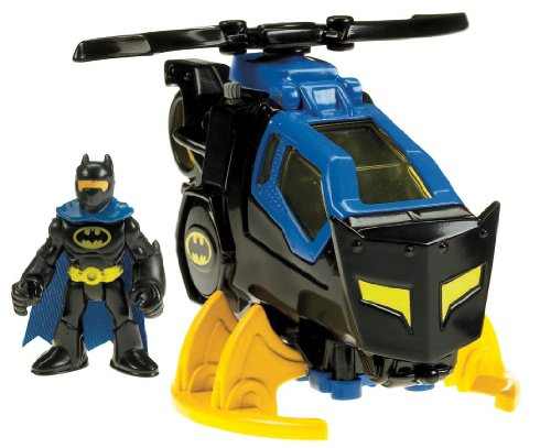 Fisher Price Imaginext DC Super Friends Vehicle Batman Batcopter