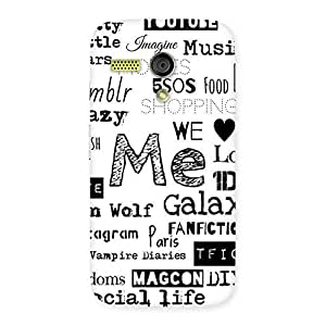 Neo World Love Things Back Case Cover for Moto G
